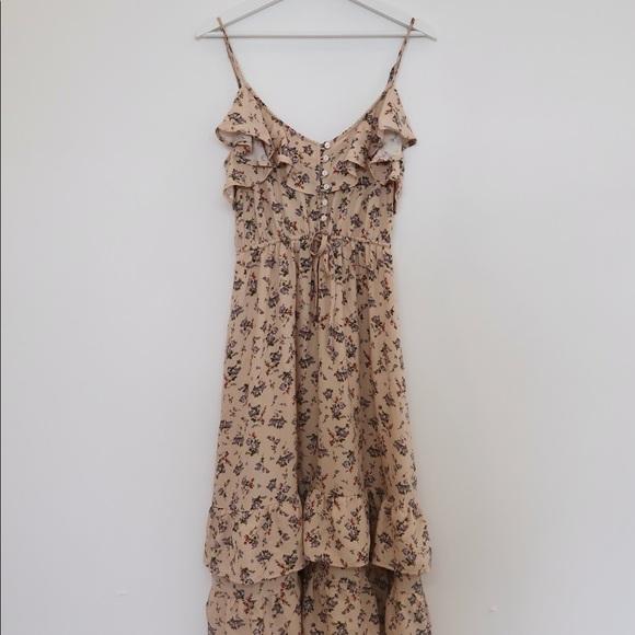 New Vici Floral Midi Dress